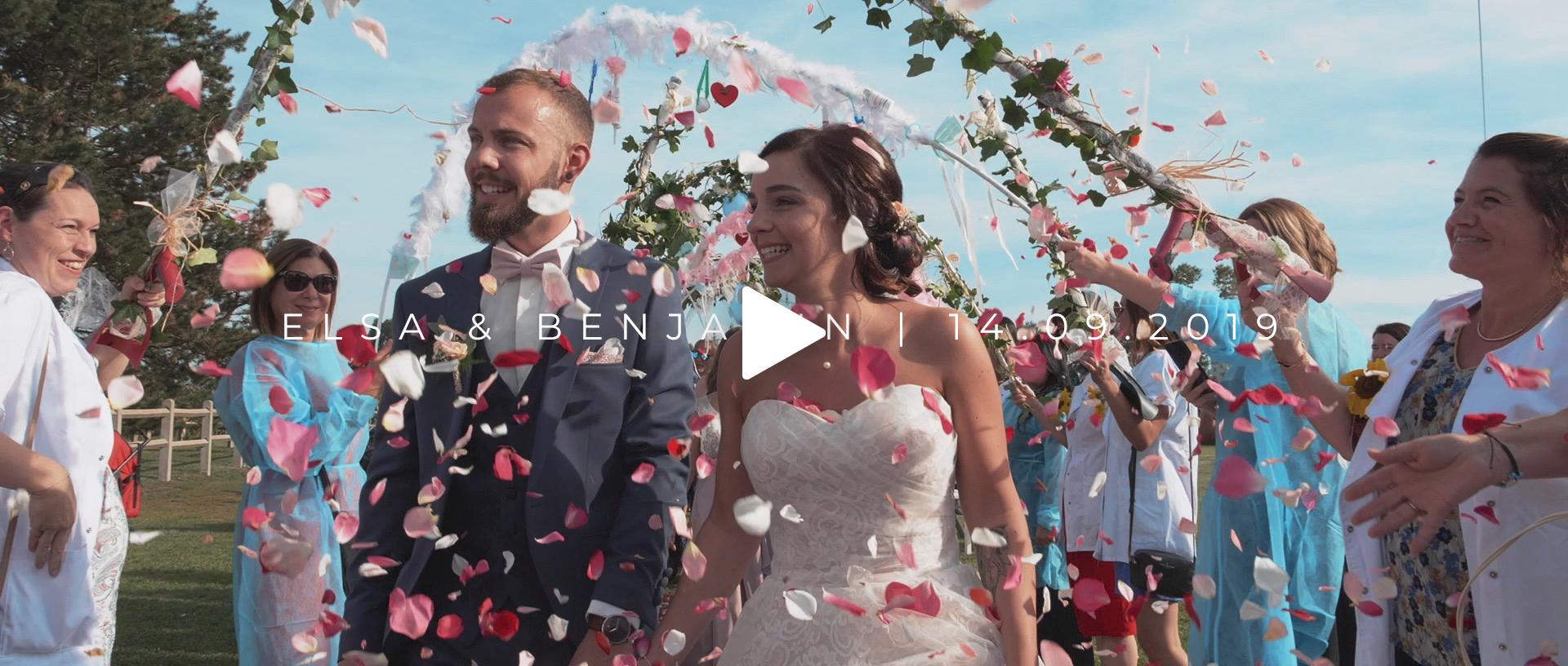 Mariage Elsa & Benjamin | Ferme Weyerbach à Dietwiller
